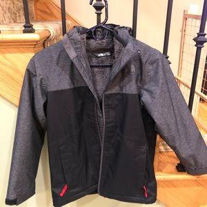 The North Face Boys Jacket Fleece Inside & Removes